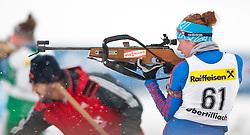 11.12.2010, Biathlonzentrum, Obertilliach, AUT, Biathlon Austriacup, Sprint Lady, im Bild Orsolia Tofalyi (ROU, #61). EXPA Pictures © 2010, PhotoCredit: EXPA/ J. Groder