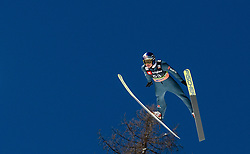 Andreas Wellinger (GER) during the Trial Round of the Ski Flying Hill Individual Competition at Day 1 of FIS Ski Jumping World Cup Final 2019, on March 21, 2019 in Planica, Slovenia. Photo by Masa Kraljic / Sportida