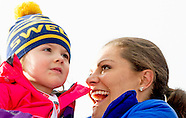 SWEDISCH ROYALS AT FALUN 2015