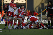 Watford, GREAT BRITAIN,  Julien DYPUY,  during the Pool 4 Rd 5  Heineken Cup game Saracens vs Biarittz at Vicarage Road, Hert's  12/01/2008  [Photo, Peter Spurrier/Intersport-images]