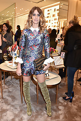 Whinnie Williams at a party to celebrate the launch of the new Furla Flagship store, 71 Brompton Road, London England. 2 February 2017.