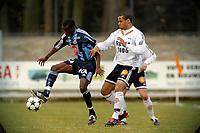 Apeldoorn, 24-03-2003<br /><br />Testmatch between ChristerGeorge,  Rosenborg (N) en Djurgarden (S).<br />Both teams are preparing for the next season in Sweden and in Norway.<br />Location: AGOVV, Apeldoorn, Netherlands