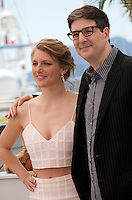 Director Mark Osborne and actress Charlotte Vandermeersch at the The Little Prince – Le Petit Prince film photo call at the 68th Cannes Film Festival Friday 22nd May 2015, Cannes, France.
