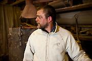 Ghent, Belgium, Jun 16, 2009, Bronzefoundry De Groeve producing artwok for Johan Tahon. PHOTO © Christophe Vander Eecken