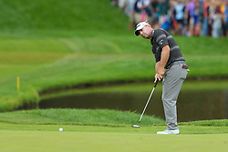 September 8, 2018 - Newtown Square, Pennsylvania, United States - Ryan Armour putts the 10th green during the third round of the 2018 BMW Championship. (Credit Image: © Debby Wong/ZUMA Wire)