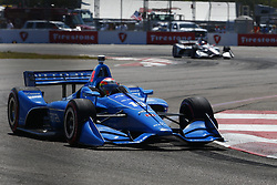 March 11, 2018 - St. Petersburg, Florida, United States of America - March 11, 2018 - St. Petersburg, Florida, USA: Ed Jones (10) battles for position during the Firestone Grand Prix of St. Petersburg at Streets of St. Petersburg in St. Petersburg, Florida. (Credit Image: © Justin R. Noe Asp Inc/ASP via ZUMA Wire)