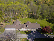 Slate Hill, New York  - A aerial view of a home on May 12, 2016.
