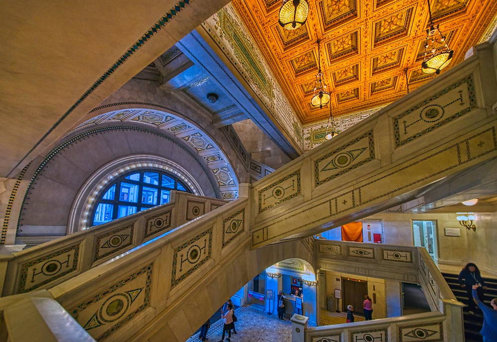 Chicago Architecture. Buildings and interiors. Digital photography.