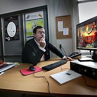 Nederland, Amsterdam , 12 november 2010..Jeroen Lemmens, gepromoveerd op computer game verslaving zoals World of Warcraft..Foto:Jean-Pierre Jans