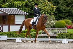 TASCHER Katharina (GER), Dressage Deluxe FB<br /> Dressurpferdeprüfung Kl. M 6 jährige Pferde<br /> Qualifikation zum Bundeschampionat des Deutschen Dressurpferdes 2020<br /> Kronberg - Schafhof Dressurfestival 2020<br /> 27. Juni 2020<br /> © www.sportfotos-lafrentz.de/Stefan Lafrentz