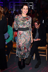 Sadie Frost during the Tommy Hilfiger Front row during London Fashion Week SS18 held at Roundhouse, Chalk Farm Rd, London. Picture Date: Tuesday 19 September. Photo credit should read: Ian West/PA Wire