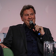 The Brewery,,London,England,UK.21th April 2017. Speaker Glenn Hoddle, at the Pride of St George at The Brewery. by See Li