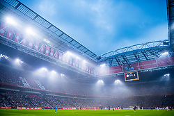 14-08-2018 NED: Champions League AFC Ajax - Standard de Liege, Amsterdam<br /> Third Qualifying Round,  3-0 victory Ajax during the UEFA Champions League match between Ajax v Standard Luik at the Johan Cruijff Arena / Johan Cruijff Arena