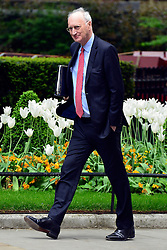 © Licensed to London News Pictures. 21/05/2013. Westminster, UK . Sir George Young, Conservative MP, Chief Whip. Ministers arrive for a Cabinet meeting at Downing Street today 21 May 2013. Photo credit : Stephen Simpson/LNP