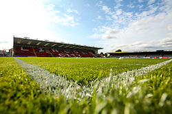 A general view of Sincil Bank Stadium, home to Lincoln City - Mandatory by-line: Robbie Stephenson/JMP - 13/07/2018 - FOOTBALL - Sincil Bank Stadium - Lincoln, England - Lincoln City v Sheffield Wednesday - Pre-season friendly
