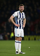 WBA's James Morrison looks on dejected during the Premier League match at Vicarage Road Stadium, London. Picture date: April 4th, 2017. Pic credit should read: David Klein/Sportimage