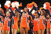 Nov. 14, 2010; Charlottesville, VA, USA;  during the game at the John Paul Jones Arena.  Mandatory Credit: Andrew Shurtleff