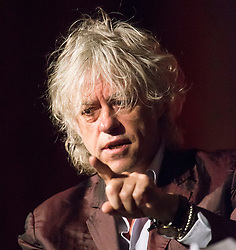 © Licensed to London News Pictures. 24/07/2014. Musician and Campaigner Sir Bob Geldof points while speaking during a session of the 20th International AIDS conference held in Melbourne Australia. Photo credit : Asanka Brendon Ratnayake/LNP