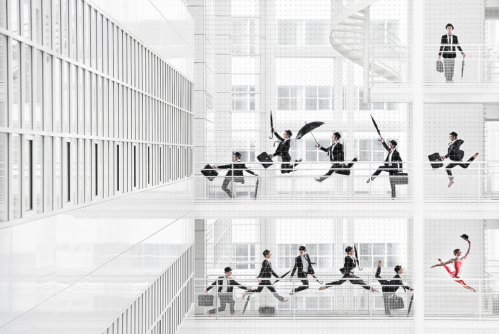 Dans in Den Haag Kalender | Atrium Den haag | personal project