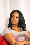 Lauren London at ' The Young Hollywood ' panel at The 2008 American Black Film Festival  held at The Writers Guild of America on August 9, 2008...The Festival film slate is primarily composed of world premieres (shorts, narrative features and documentaries), positioning it as the leading film festival in the world for African American and urban content. Since its inception ABFF, has screened over 450 films and has rewarded and redefined artistic excellence in independent filmmaking.