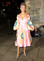 February 18, 2019 - London, United Kingdom - Adwoa Aboah attends the Fabulous Fund Fair as part of London Fashion Week event. (Credit Image: © Brett Cove/SOPA Images via ZUMA Wire)