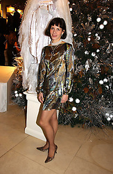 Ballerina DARCEY BUSSELL at a Christmas party to celebrate the 225th Anniversary of Asprey held at their store 167 New Bond Street, London on 7th December 2006.<br /><br />NON EXCLUSIVE - WORLD RIGHTS