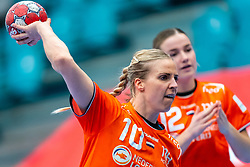 Danick Snelder of Netherlands during the Women's EHF Euro 2020 match between Netherlands and Germany at Sydbank Arena on december 14, 2020 in Kolding, Denmark (Photo by RHF Agency/Ronald Hoogendoorn)