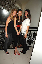 Left to right,    ,    and LADY NATASHA RUFUS-ISAACS at a party to launch the new upstairs area of Mamilanji, 107 Kings Road, London SW3 on 19th April 2007.<br /> <br /> NON EXCLUSIVE - WORLD RIGHTS