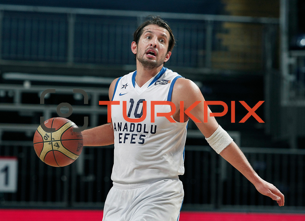 Anadolu Efes's Kerem Tunceri during their Turkish Basketball League match Anadolu Efes between Turk Telekom at Arena in Istanbul, Turkey, Wednesday, January 04, 2012. Photo by TURKPIX