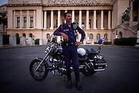 cuban policeman portrait