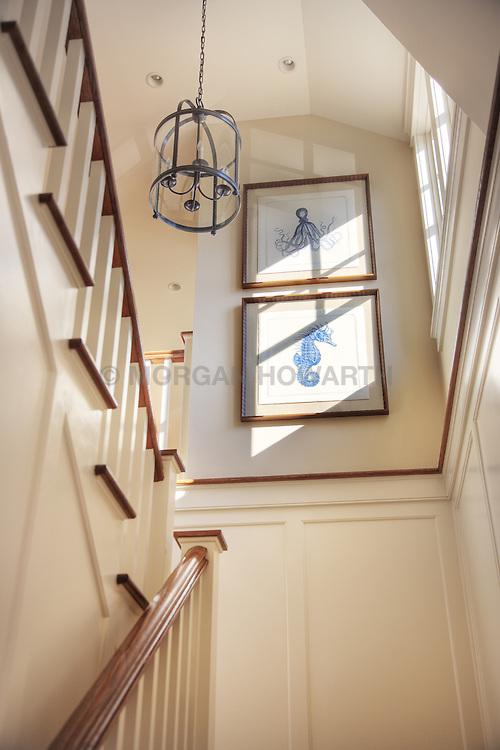 5455 Tates Bank Rd Cambridge, MD Kristen Peakes interor designer Stair stairway
