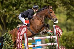 """Noppe Ann-Florence, BEL, Elegance """"F""""<br /> Nationaal Kampioenschap LRV Paarden<br /> Lummen 2020<br /> © Hippo Foto - Dirk Caremans<br /> 26/09/2020"""