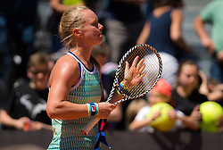 May 16, 2019 - Rome, ITALY - Kiki Bertens of the Netherlands in action during her second-round match at the 2019 Internazionali BNL d'Italia WTA Premier 5 tennis tournament (Credit Image: © AFP7 via ZUMA Wire)