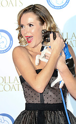 © Licensed to London News Pictures. 07/11/2013. Amanda Holden at the Battersea Dogs & Cats Home Collars & Coats Gala Ball at Battersea Evolution, London UK. Photo credit: by Richard Goldschmidt/LNP