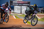 #32 (CRAIN Brooke) USA [Haro, Rockstar] at Round 8 of the 2019 UCI BMX Supercross World Cup in Rock Hill, USA