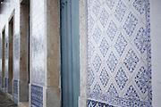 Alcantra_MA, Brasil.<br /> <br /> Detalhe de azulejos portugueses dos casaroes historicos de Alcantara, Maranhao.<br /> <br /> Detail of Portuguese Tiles of historical houses in Alcantara, Maranhao.<br /> <br /> Foto: LEO DRUMOND / NITRO