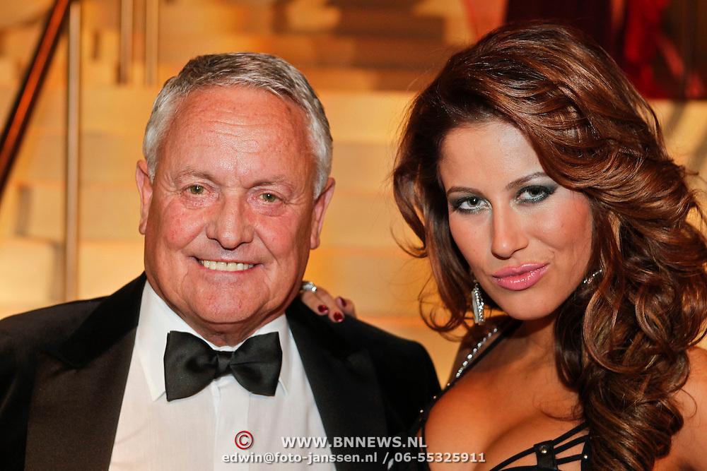 NLD/Amsterdam/20101209 - VIP avond Miljonairfair 2010, eiegnaar Sapph Rob Heilbron en Melissa Sneekes