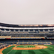 iPhone Instagram of Target Field in Minneapolis, Minnesota after the final Minnesota Twins home game of the 2014 season on September 24, 2014