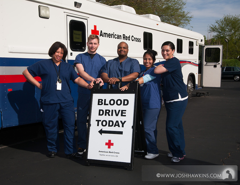 The Southern Nevada Chapter of the American Red Cross launches it's Blood Services division.