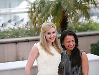 Siobhan Reilly, Jasmin Riggins  at The Angel?s Share photocall at the 65th Cannes Film Festival France. The Angel's Share is directed by Ken Loach. Tuesday 22nd May 2012 in Cannes Film Festival, France.