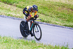 Primoz Roglic during Slovenian Road Cycling Championship in time trial 2020 on June 28, 2020 in Zg. Gorje - Pokljuka, Slovenia. Photo by Peter Podobnik / Sportida.