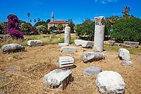 Grece, Dodecanese, ile de Kos, ville de Kos, l'Agora // Greece, Dodecanese, Kos island, Kos city, Agora