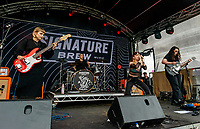 Witch Fevor  live at the Bigfoot Festival Ragley Hall Warwickshire one of the first festivals to open successfully in 2021 photo by Mark anton Smith
