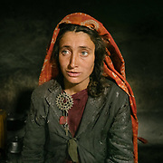 House of Bejoda. <br /> The traditional life of the Wakhi people, in the Wakhan corridor, amongst the Pamir mountains.