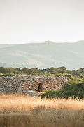 Scenic landscape with rustic stone building, Paphos, Cyprus