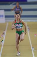 Anasztazia Nguyen (Hungary), Long Jump, during the European Athletics Indoor Championships 2019 at Emirates Arena, Glasgow, United Kingdom on 1 March 2019.