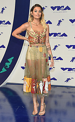 August 27, 2017 - Inglewood, California, U.S. - Paris Jackson arrives for the 2017 MTV Video Music Awards at The Forum. (Credit Image: © Lisa O'Connor via ZUMA Wire)