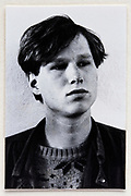 head and shoulder portrait of young adult man 1980s
