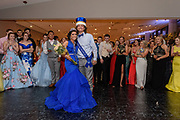 The Junior Prom Princess and Prince, Maya Maupin and Lance Padgett pose for a photo as Fairdale High School holds it's prom at the Muhammad Ali Center on Saturday, May 18.