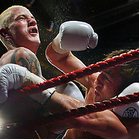 Boxing Edinburgh.Photograph David Cheskin/Press Association.